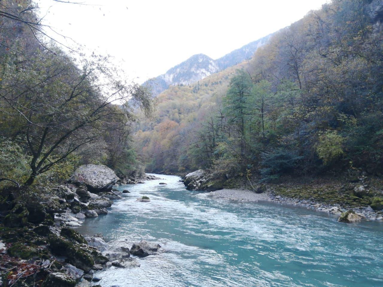 Река Бзыбь.